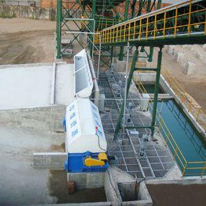 浆水回收系统
