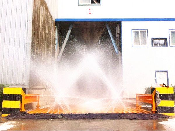 湖南工程洗轮机工程案例