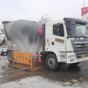 新疆喀什全自动工程洗轮机案例