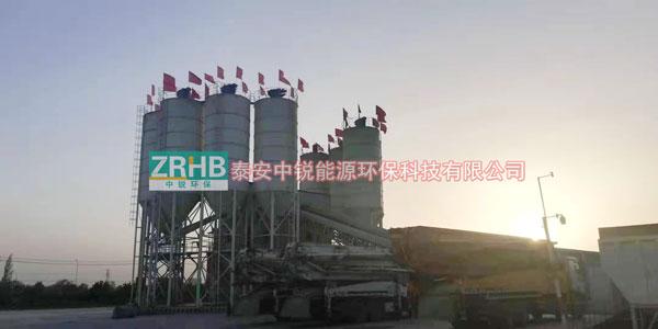 新疆喀什搅拌站仓顶除尘器案例(北区)
