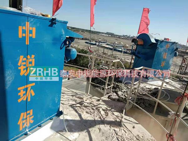 新疆喀什搅拌站仓顶除尘器案例(南区)