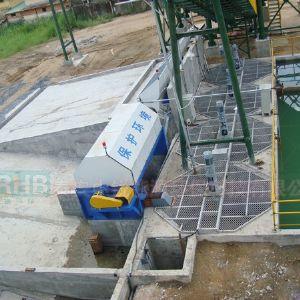湿混凝土沙石分离系统