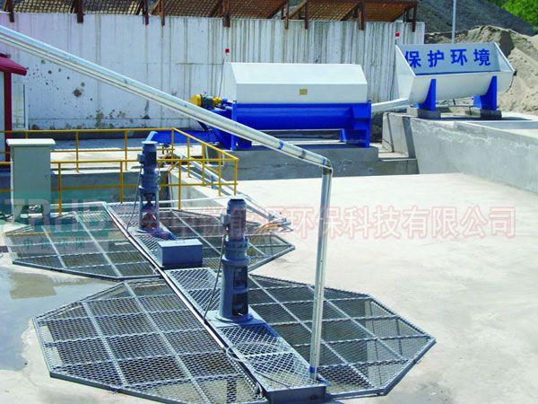 搅拌站浆水回收系统