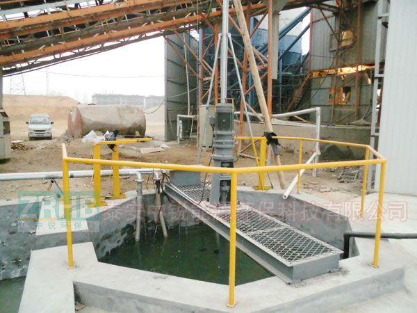 八边形浆水回收搅拌系统