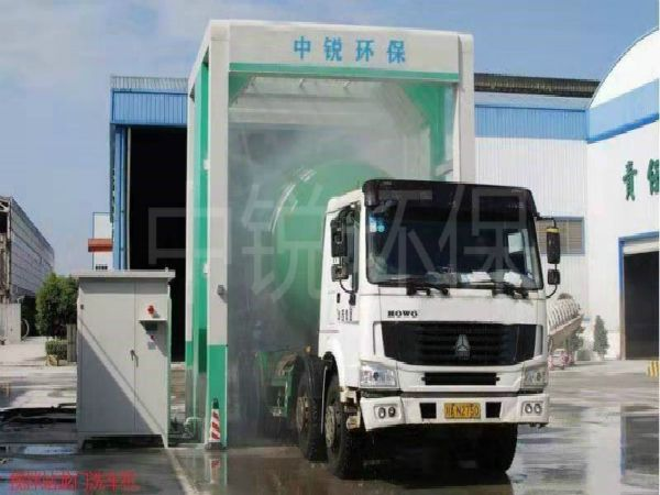 工地龙门式洗车机