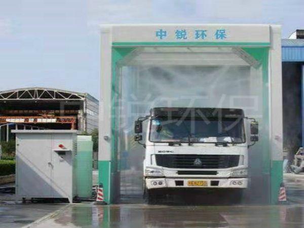 工地固定式洗车机