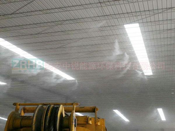 建筑工地降尘喷雾系统