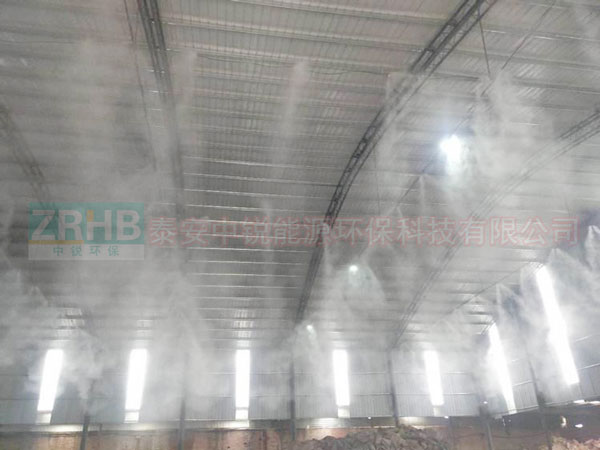 水泥厂喷淋除尘系统